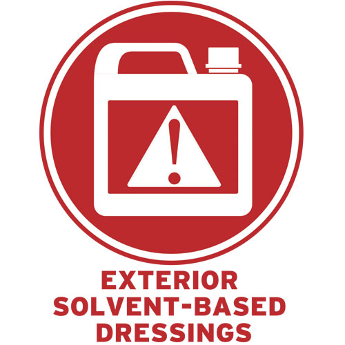 Exterior Solvent - Based Dressings
