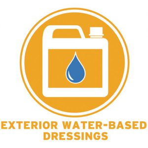 Exterior Water - Based Dressings