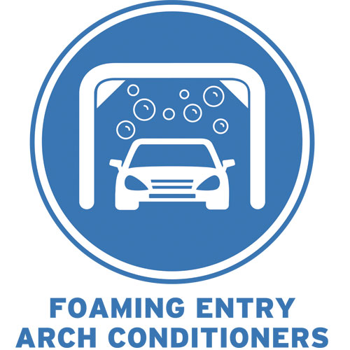 Foaming Entry Arch Conditioners