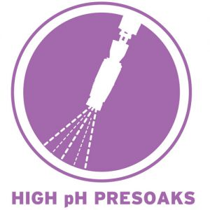 High Ph Presoaks