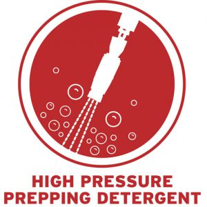 High Pressure Prepping Detergents