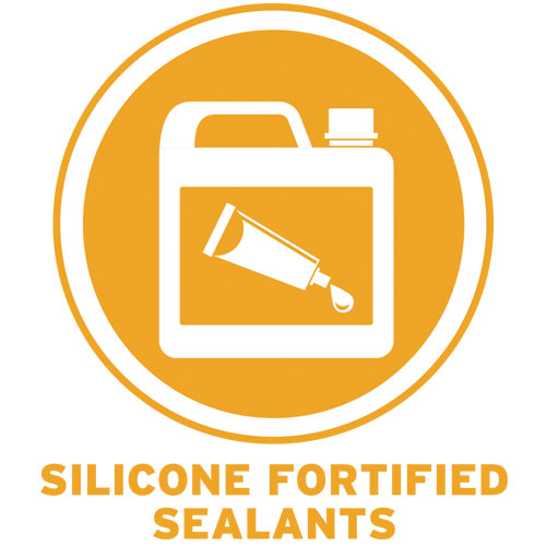 Silicone-Fortified Sealants