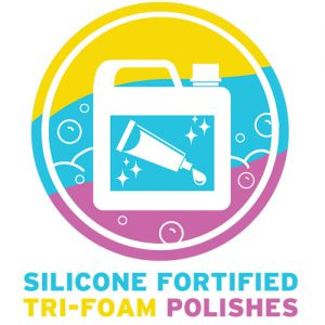 Silicone-Fortified Tri-Foam Polishes