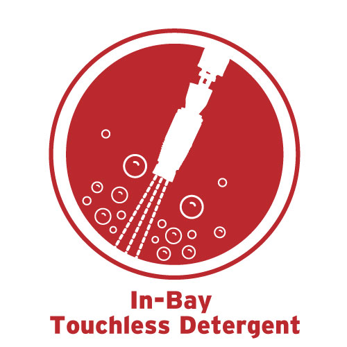 In-Bay Touchless Detergent